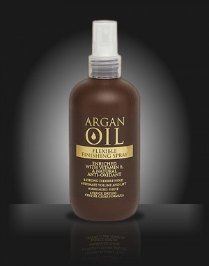 Argan Oil Flexible Finishing Styling Spray