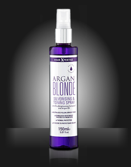 Argan Blonde Silverising & Toning Spray
