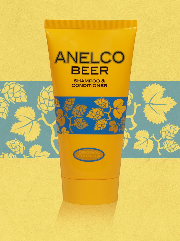 Anelco Beer Shampoo & Conditioner In One