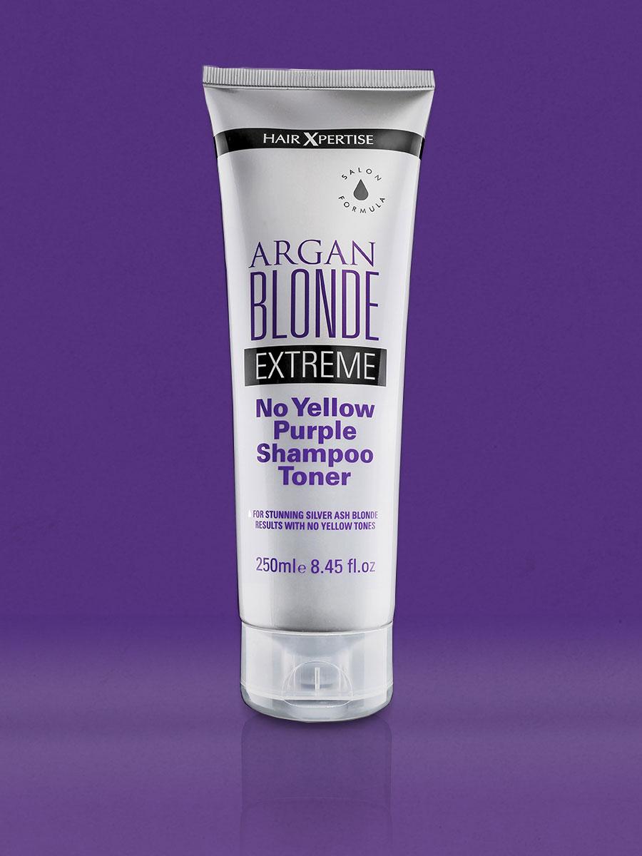 HairXpertise Argan Blonde Extreme Shampoo Toner