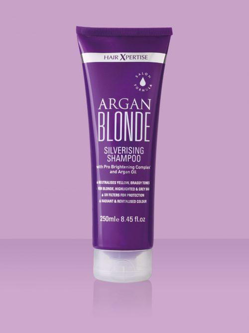 HairXpertise Argan Blonde Silverising Shampoo