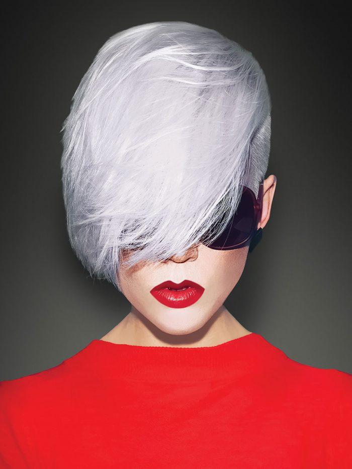 Argan Blonde Extreme Shampoo Toner - model image