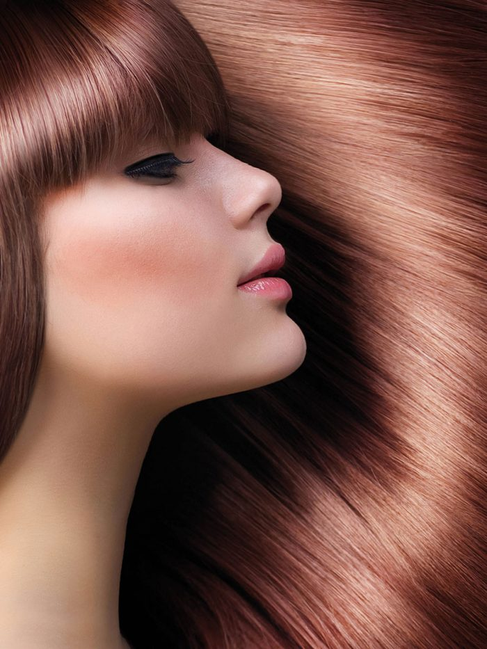 HairXpertise Argan Oil - model image